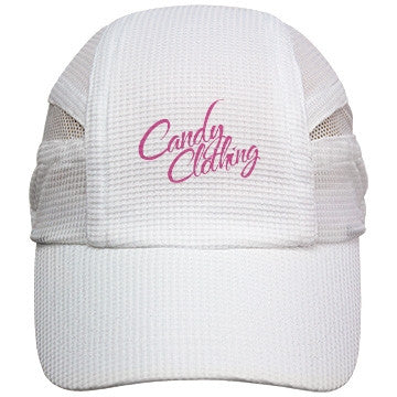 Pink Candy Clothing Vanilla Marshmallow Running Hat