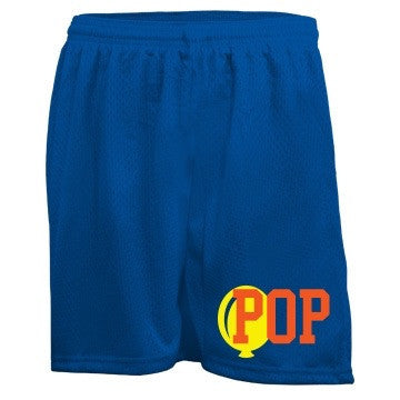 Blueberry Jaffa Cake Pop Bubblegum Mesh Shorts