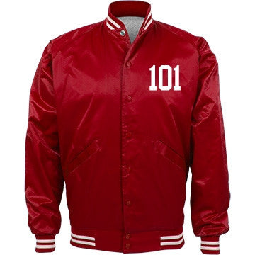 Red Vanilla Cake 101 Bomber Jacket