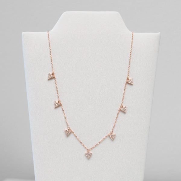 - A| 7 Chams Necklace Sterling Silver
