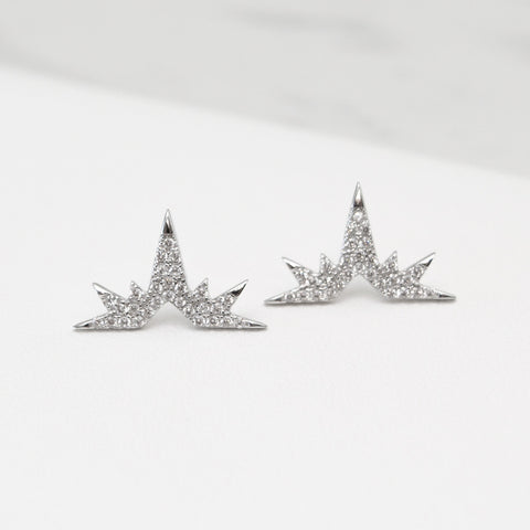 - A| Eiffel Earrings Sterling Silver