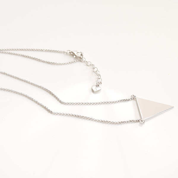 Cool Classic Necklace Sterling Silver - anelarevese - 2