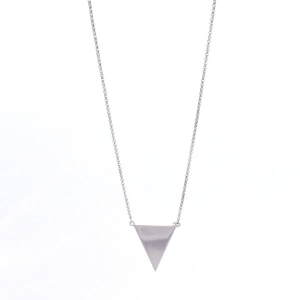 Cool Classic Necklace Sterling Silver - anelarevese - 1