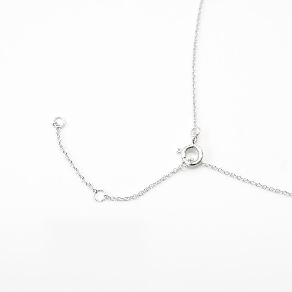 - Pearl Shiny Necklace Sterling Silver - anelarevese - 3