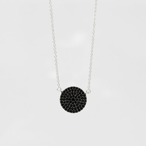 - A| Black hole Necklace Sterling Silver - anelarevese - 1