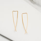 - A| Hooked on Hoop Gold Earrings Sterling Silver - anelarevese - 4