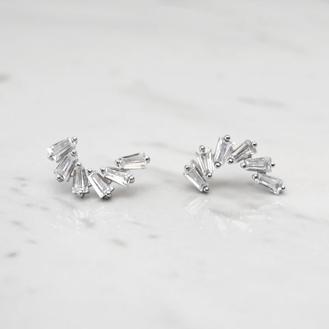 - A| Stunning Earrings Sterling Silver
