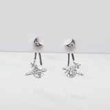 - A| VW Universe Earrings Sterling Silver