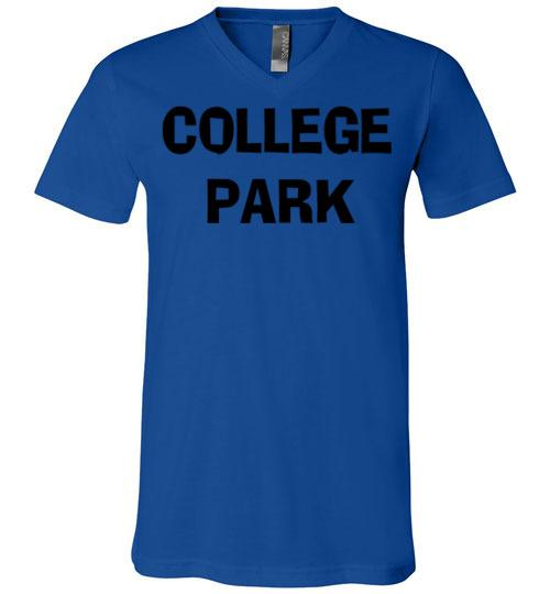 College Park Georgia T-shirt-Unisex Various Colors-The Work Hard Travel Well Store