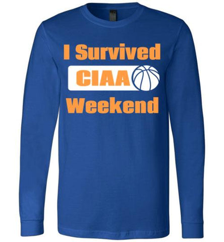 I Survived #CIAA Unisex Long Sleeve Tee-The Work Hard Travel Well Store