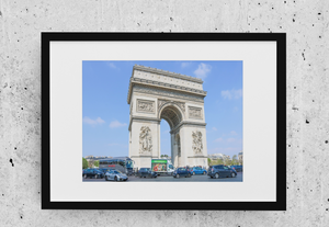Arc De Triomphe Poster-The Work Hard Travel Well Store