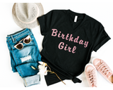 Birthday Girl Shirt-The Work Hard Travel Well Store