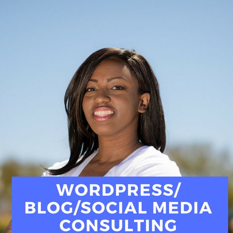 Blog/WordPress/Content and Social Media Consulting