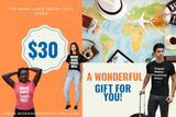 Work Hard Travel Well Store Gift Card-Gift Card-The Work Hard Travel Well Store