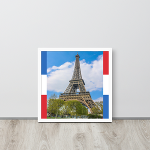 Eiffel Tower Poster-The Work Hard Travel Well Store