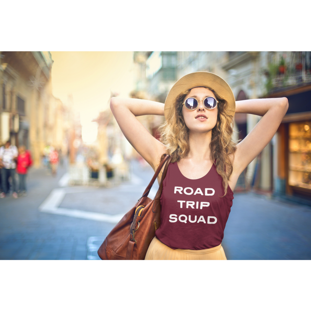 Road Trip Squad Tank Top-The Work Hard Travel Well Store