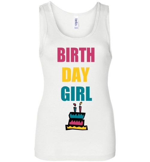 Birthday Girl Shirt (2 Colors Available)-The Work Hard Travel Well Store