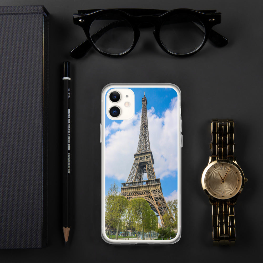 Eiffel Tower Phone Case-The Work Hard Travel Well Store