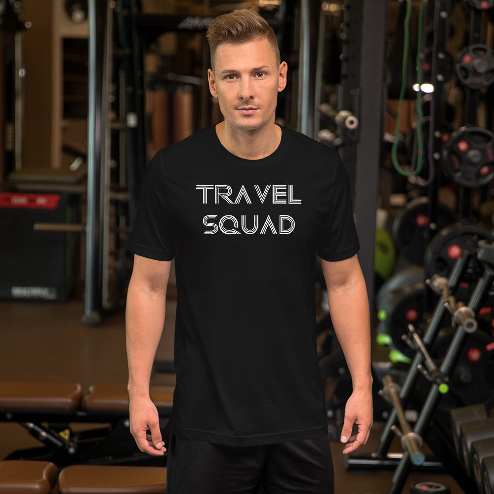 Travel Squad Tee-The Work Hard Travel Well Store