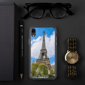 Eiffel Tower iPhone Case-The Work Hard Travel Well Store