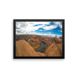 Framed Horseshoe Bend Office Photo