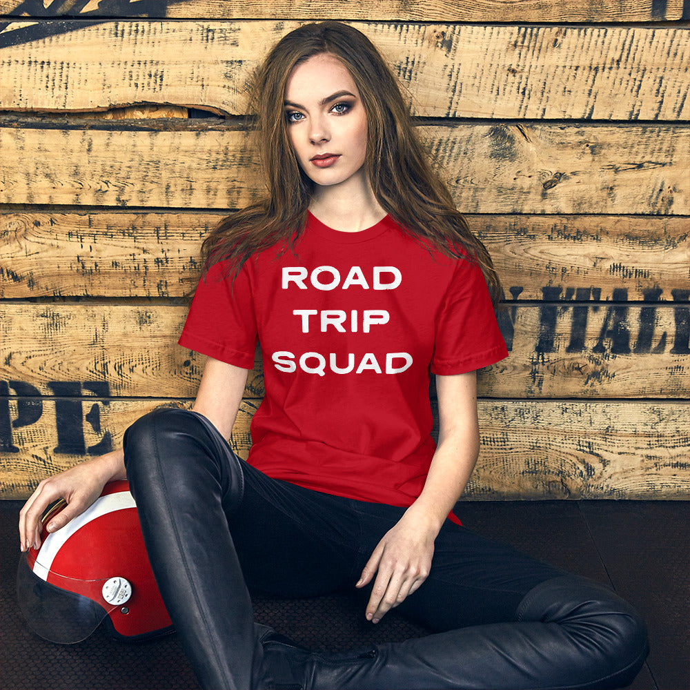 Road Trip Squad T-Shirt-Unisex-The Work Hard Travel Well Store