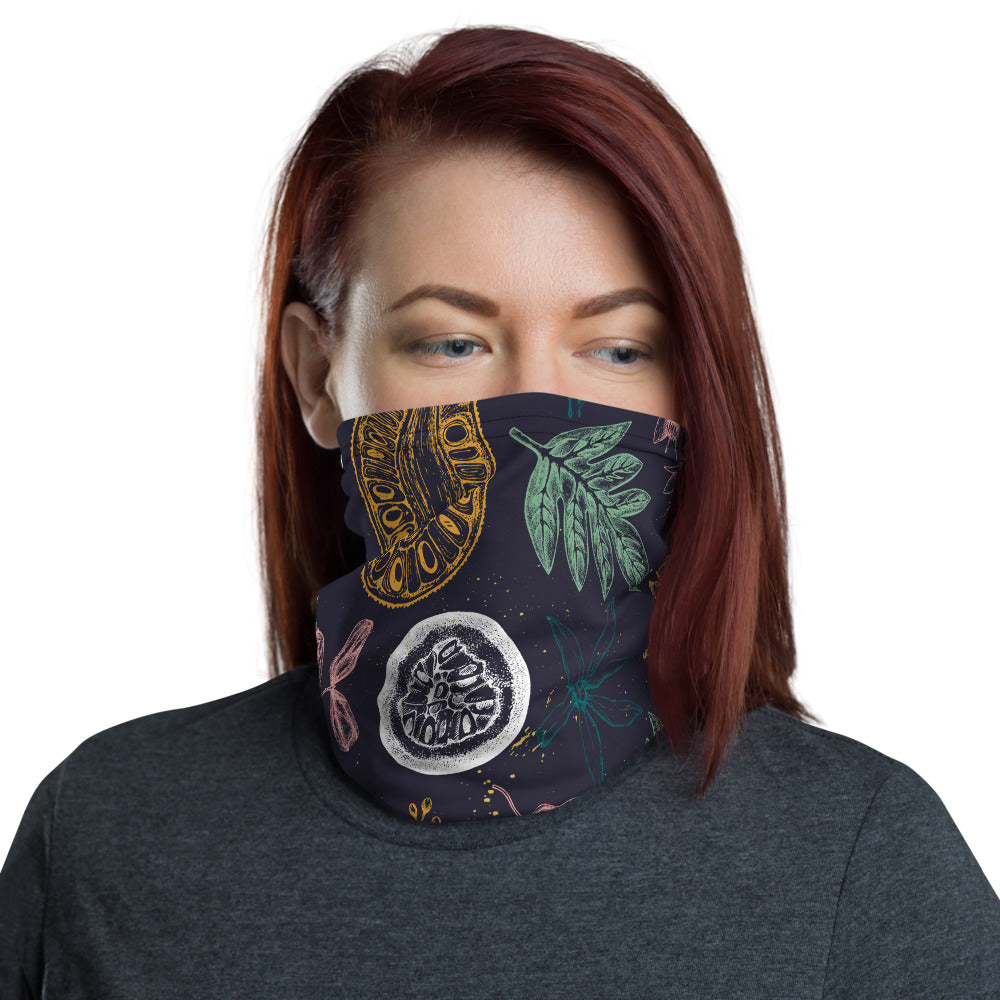 Unisex Floral Neck gaiter-The Work Hard Travel Well Store