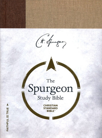 CSB Spurgeon Study Bible, Cloth Over Board