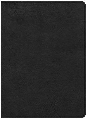 CSB Study Bible, Black Premium LeatherTouch