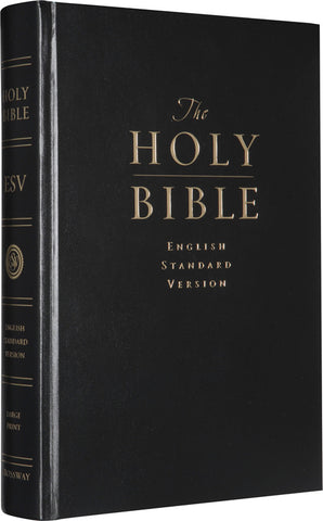 ESV Pew and Worship Bible (8.8 type size) (Hardcover, Black - Case of 24)