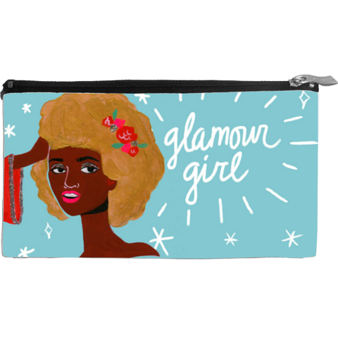 Glamour Girl Small Cosmetic Bag
