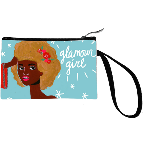 Glamour Girl Key Coin Clutch