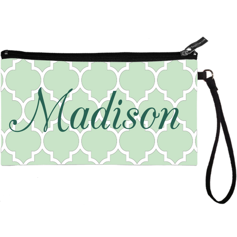 Moroccan Lattice Wristlet