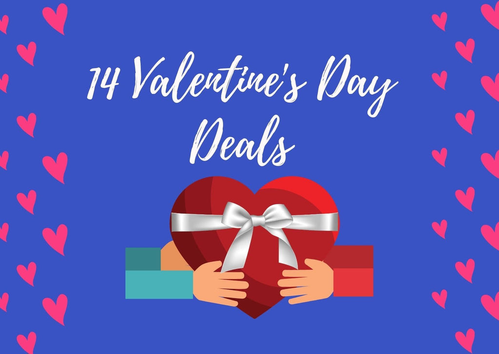 Say I Love You! 14 Best Valentine's Day Deals