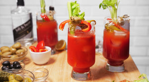 Game Day: How to Set Up a Bloody Mary Bar