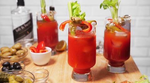 How to Set Up a Bloody Mary Bar, Accessories, Recipe, Display Ideas