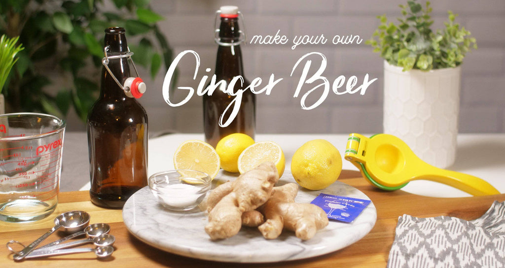 How to Make Ginger Beer at Home