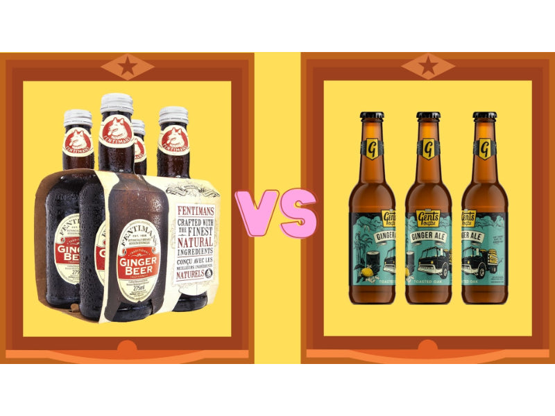 Ginger Beer Vs Ginger Ale: The Difference Explained