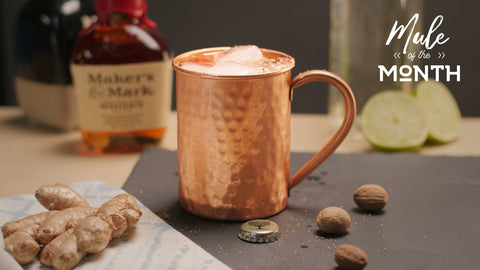 Mule of the Month: The Whiskey Ginger Mule
