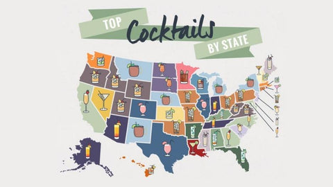 The most popular drinks by state