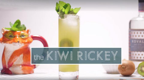 Kiwi Rickey Recipe: Another Lime Gin Cocktail Worth Trying