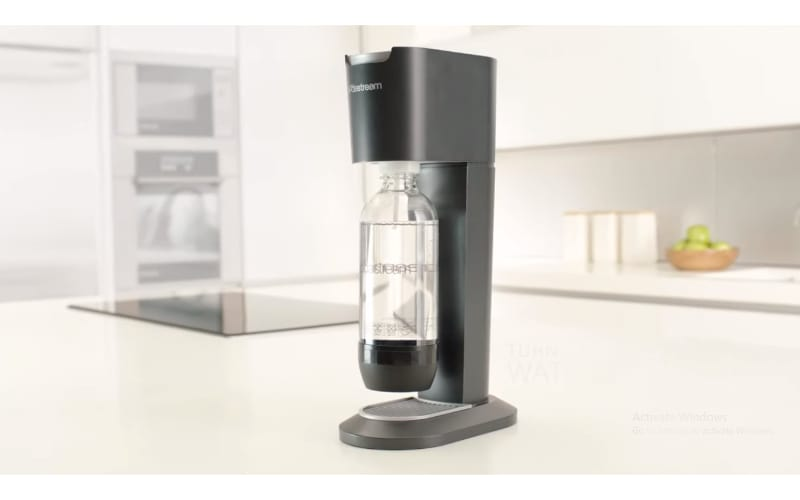 SodaStream Genesis on a sturdy surface