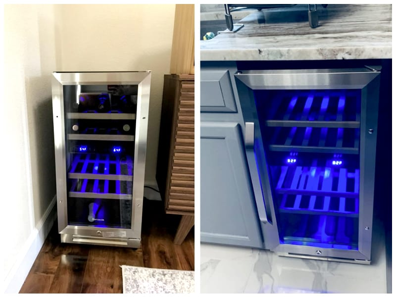 Karcassin Wine Fridge Customer Images