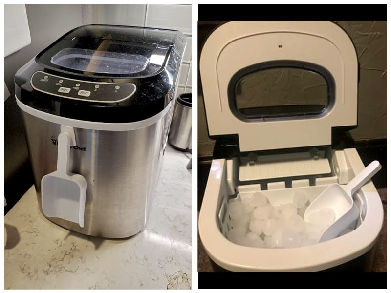Magic Chef Portable Ice Maker Customer Images