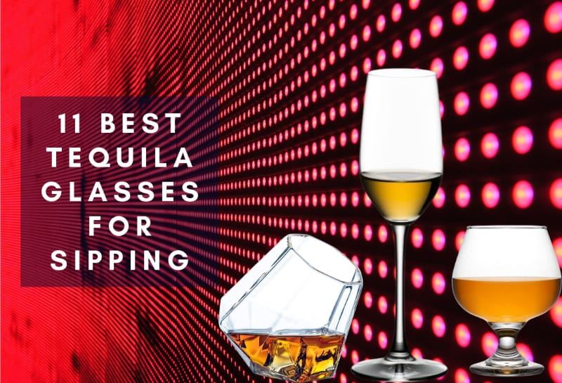 Sample tequila glasses to choose from