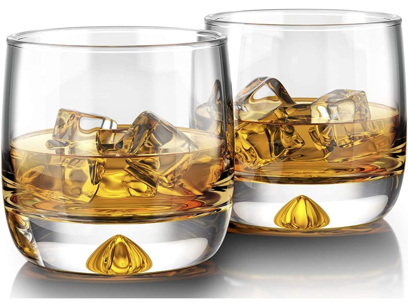 Mofado Curved Whiskey Glass