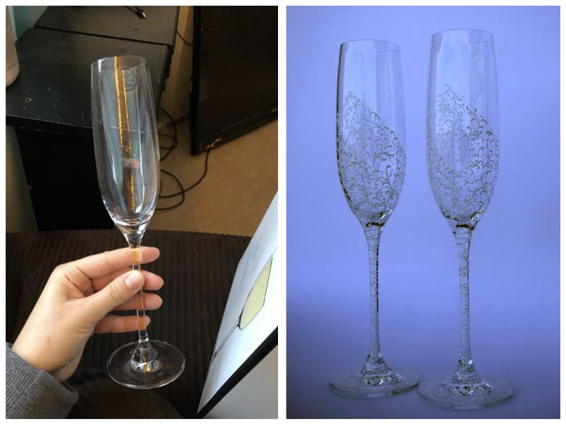 Lenox Toasting Champagne Glass Customer Images