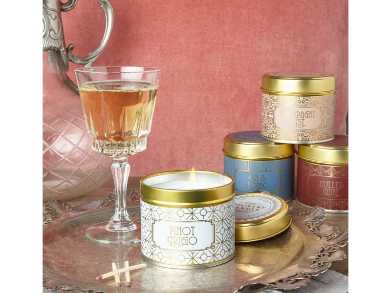 Happy Hour Alcohol Scented Candles