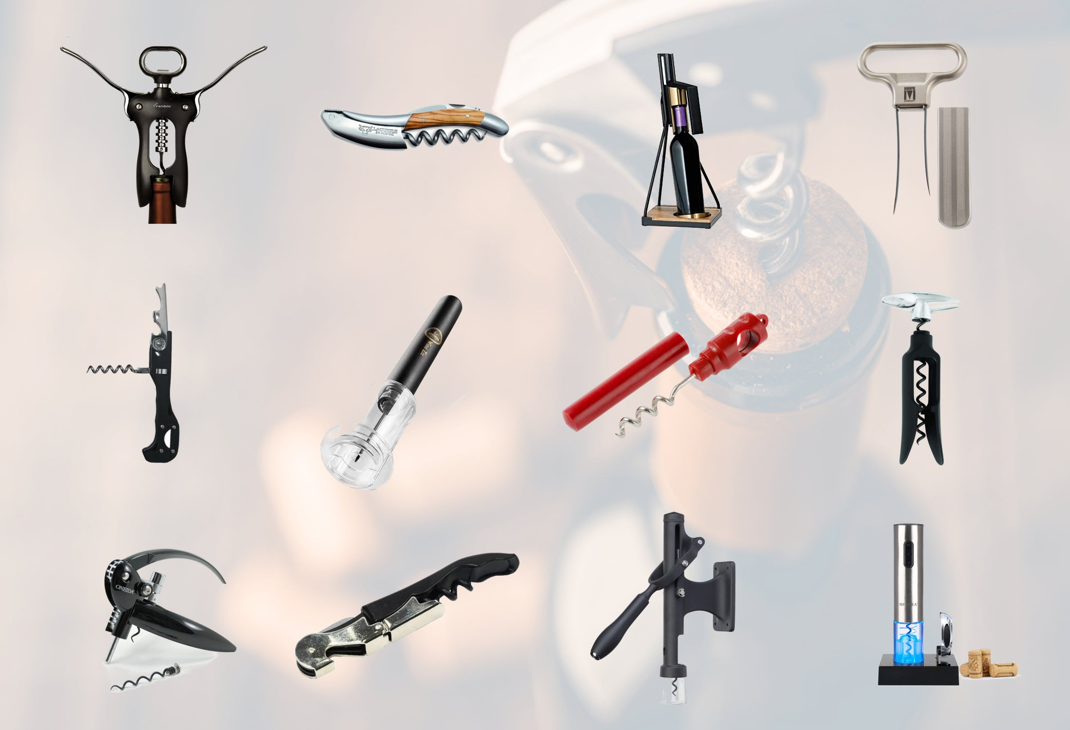 12 different types of corkscrews