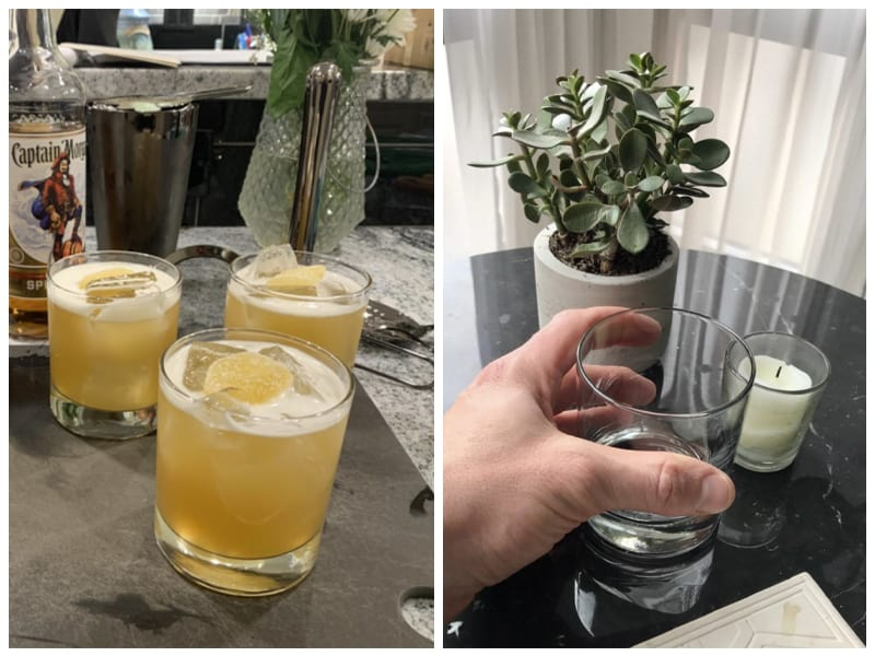 Luxu Bourbon Glasses Customer Images